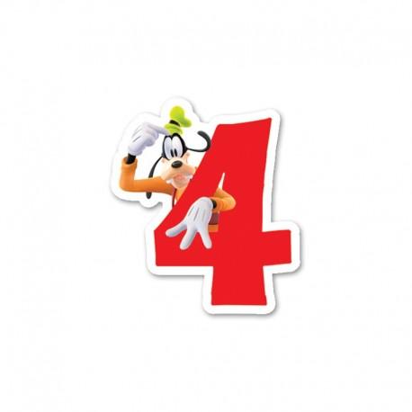 Vela nº4 Mickey Mouse