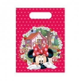 6 Bolsitas para Dulces Minnie Mouse Jardín