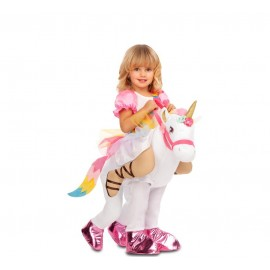Disfraz de Ride-On Princesa Unicornio Infantil