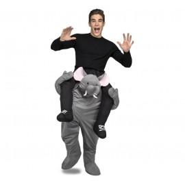 Disfraz de Ride-On Elefante Adulto Adulto
