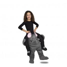 Disfraz de Ride-On Elefante Niño Infantil