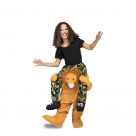 Disfraz de Ride-On León Infantil