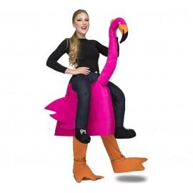 Disfraz de Ride-On Flamenco Adulto