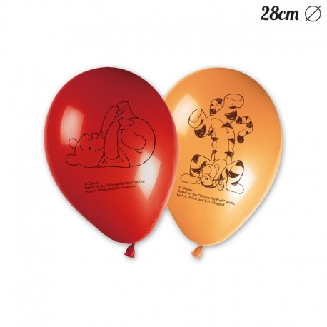 8 Globos Winnie the Pooh 28 cm