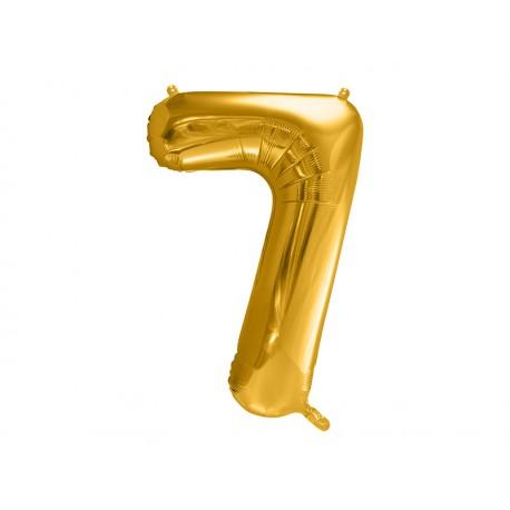 Globo Numero 7 Foil 86 cm