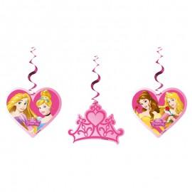 3 Colgantes de Princesas Dream Disney