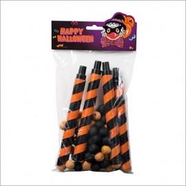 Lanza Bolas Halloween Orange and Black