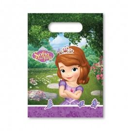 6 Bolsitas para Chuches Princesa Sofía