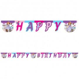 Guirnalda Happy Birthday Princesa Sofía