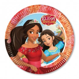 8 Platos Elena de Avalor 23 cm