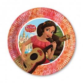 8 Platos Elena de Avalor 20 cm