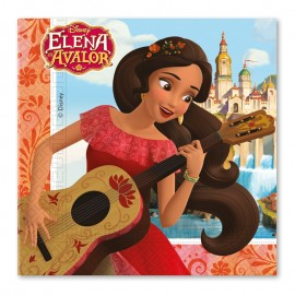 20 Servilletas Elena de Avalor 33 cm
