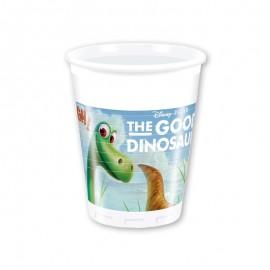 8 Vasos Dinosaurios 200 ml