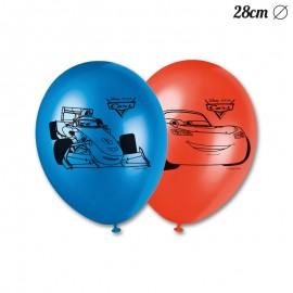 8 Globos de Cars 28 cm