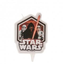Vela 2D Cumpleaños Star Wars 7,5 Cm