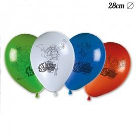 8 Globos de Los Vengadores 28 cm