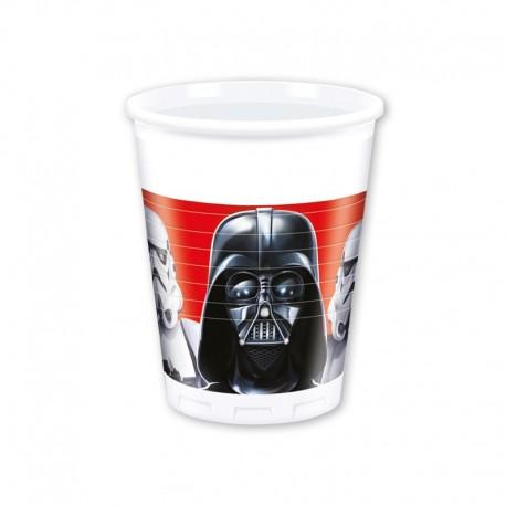8 Vasos Star Wars 200 ml