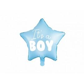 Globo Estrella Its a Boy Foil 45cm