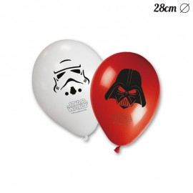 8 Globos de Star Wars 28 cm