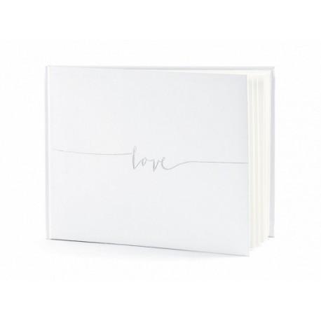 Libro Firmas Love Blanco