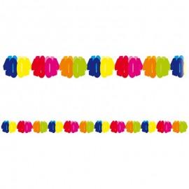Guirnalda de papel número 40 multicolor 6 m