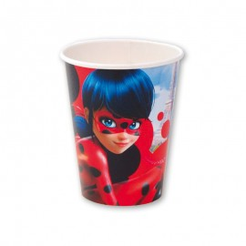 8 Vasos Lady Bug 266 ml