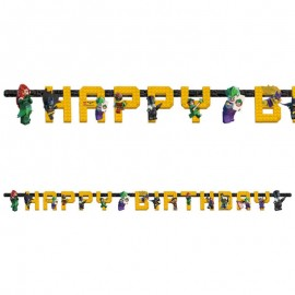 Guirnalda Lego Batman Happy Birthday 180 x 15 cm
