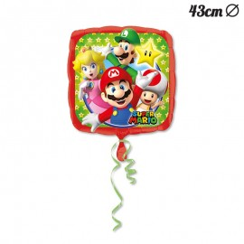 Globo Super Mario Foil 43 cm