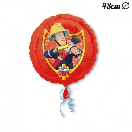 Globo Sam el Bombero Foil 43 cm