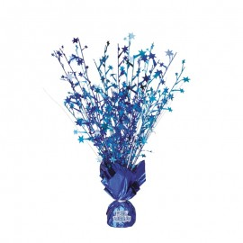 Centro de Mesa Personalizable Azul