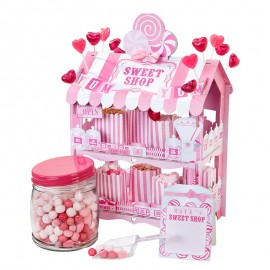 Stand para Dulces Casita Rosa