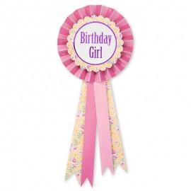 Chapa de Cumpleaños para Niña