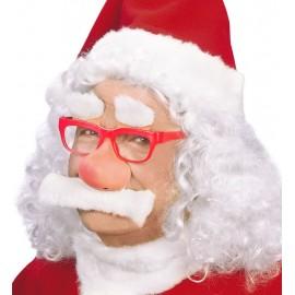 Gafas Papá Noel con Nariz y Bigote