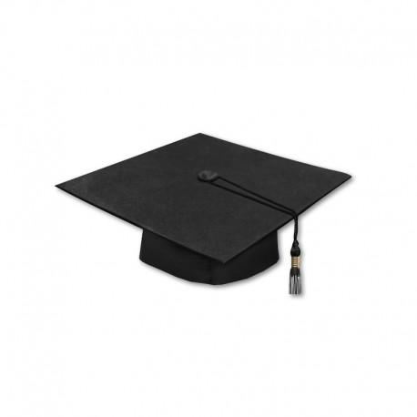 Birrete De Graduación Negro