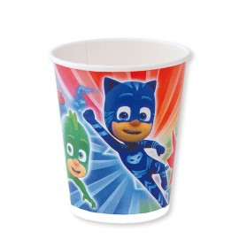 8 Vasos Pj Masks 200 ml