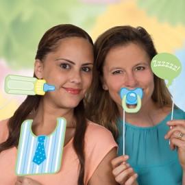 10 Accesorios para Photocall Baby Shower