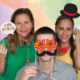 10 Accesorios para Photocall Happy Birthday