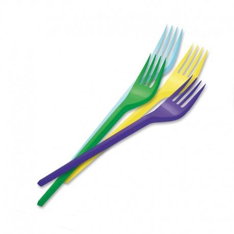 15 Tenedores de Plástico