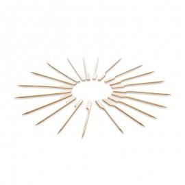 20 Pinchos de Madera 12 cm