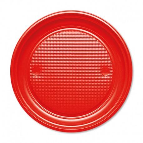 10 Platos de Plástico 20,5 cm