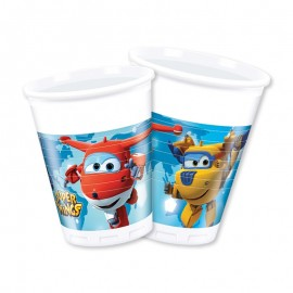 8 Vasos Super Wings 200 ml