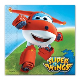 20 Servilletas Super Wings 33 cm