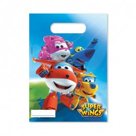 6 Bolsitas para Chuches Super Wings