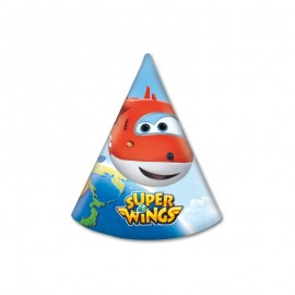 6 Gorros Super Wings
