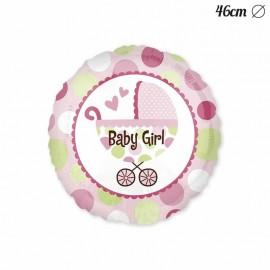 Globo Baby Shower Niña con Carrito 46 cm