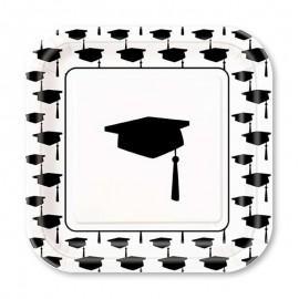 10 Platos de Graduación 18 cm