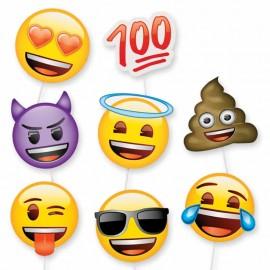 8 Accesorios de Emoticonos para Photocall