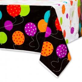 Toalha de Mesa Happy Birthday Cheer 137,2 x 213,4 cm