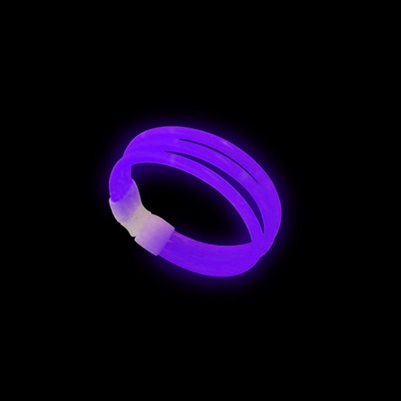 Pulseras-Fluorescentes-Triples-33-uds