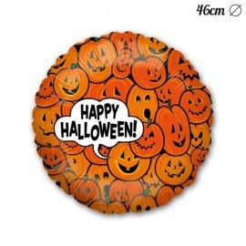 Globo Happy Halloween Calabazas Foil 46 cm
